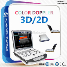 Machine d'écho de diagnostic d'ultrason de Doppler de la couleur 3D / 2D de DW-C60PLUS